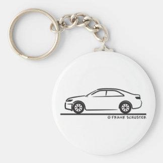 2010 Toyota Camry Basic Round Button Keychain