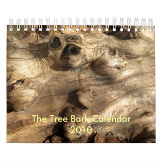 2010 Tree Bark Calendar