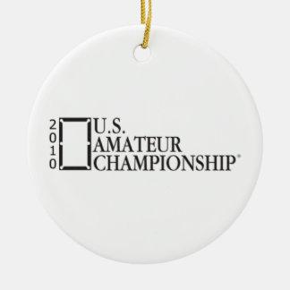 2010 U.S. Amateur Championship Ceramic Ornament