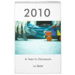 2010: Un año en dinosaurios Calendario
