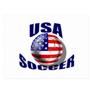 2010 USA Soccer gear Postcard