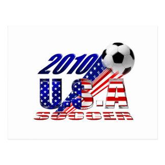 2010 USA Soccer Postcard