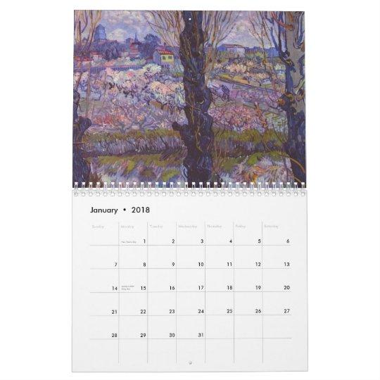 2010 Vincent Van Gogh Paintings Calendar