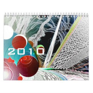 2010 Wacky Space Calendar