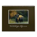 2010 wildlife Africa safari calendars