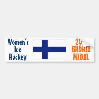 2010 Women's Ice Hockey - Bronze Medal Bumper Sticker