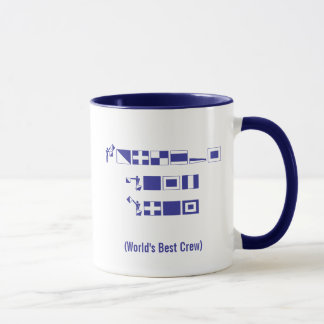 "2010 ""World's Best Crew"" Blue Water Regatta Mug"