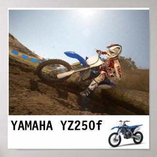 2010-Yamaha-YZ250F_EUR_DPBSE_action_005_tcm46-3... Poster