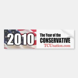 2010 Year of the Conservative bumper sticker Car Bumper Sticker