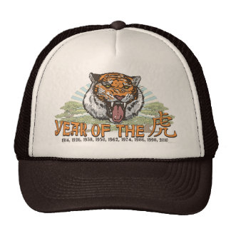 2010 Year of the Tiger by Mudge Studios Trucker Hat