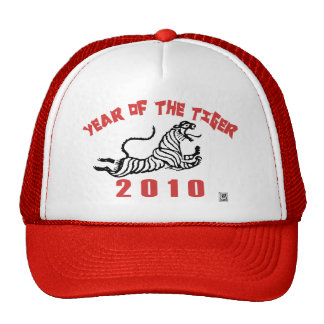 2010 Year of The Tiger Mesh Hat