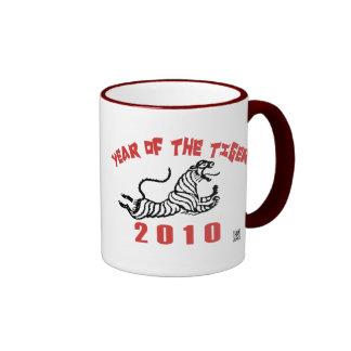 2010 Year of The Tiger Ringer Mug