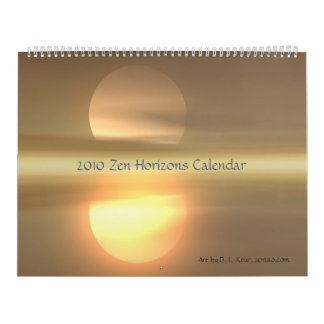 2010 Zen Horizons Calendar