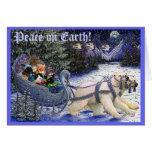 ¡2010XMASCatCard, paz en la tierra! Tarjetón