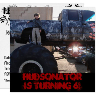 2011 01 27_5819_edited-1, HUDSONATOR IS TURNING 6! Card