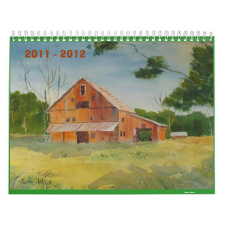 2011 - 2012 Calendar by Kevin Slater