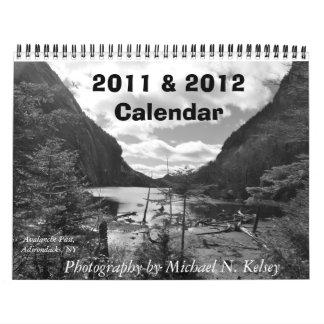 2011-2012 paisajes de nordeste del calendario