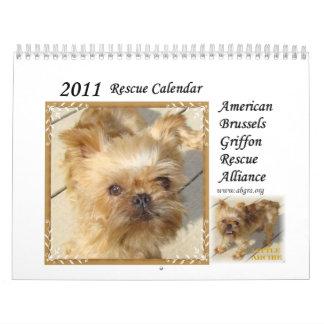 2011 ABGRA Rescue Calendar