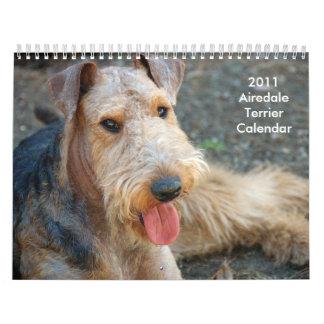 2011 Airedale Terrier Calendar