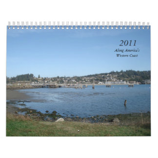 2011, Along America's Western Coast Wall Calendar
