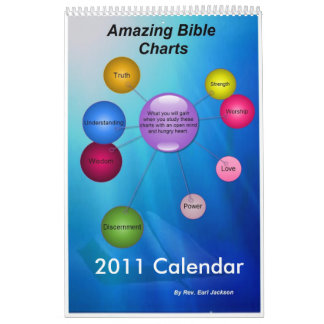 2011 Amazing Bible Charts Calendar