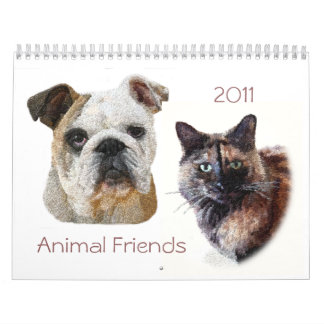2011 Animal Friends Calendar