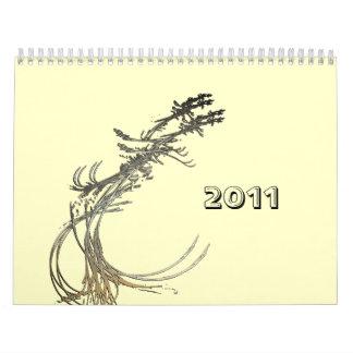 2011 Anjo Lafin fractals Calendar