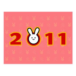 2011: Año del conejo Postal