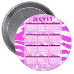 2011 años de un vistazo hacen calendarios pins
