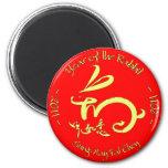 2011 años del Año Nuevo chino del conejo Imán