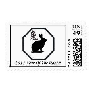 2011 años del franqueo del conejo