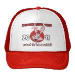 2011 Años Nuevos chinos del conejo Gorro