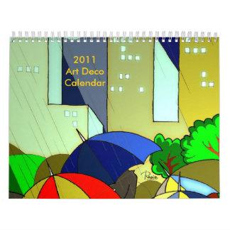 2011 Art Deco Calendar