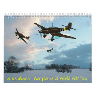 2011 aviones de la guerra del calendario de mundo…