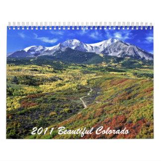 2011 Beautiful Colorado Calendar