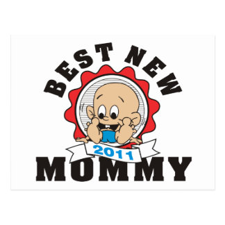 2011 Best New Mommy Post Cards