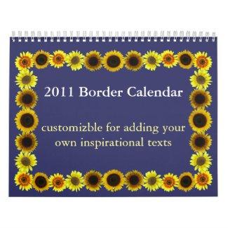 2011 Border Calendar calendar