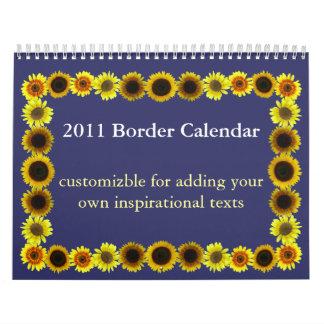 2011 Border Calendar