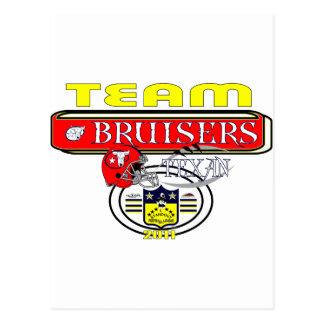 2011 Bruisers SIDELINE Postcard