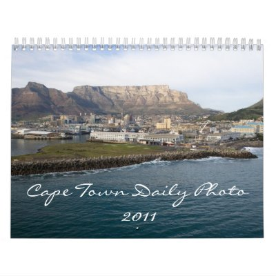 daily calendar march 2011. 2011 Calendar by capetownphoto