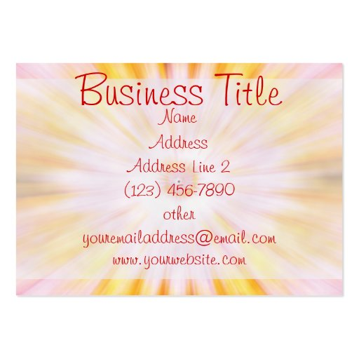 2011 Calendar Business Cards