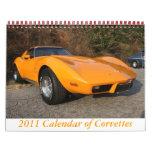 2011 Calendar of Corvettes