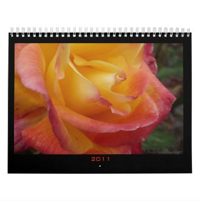 2011 Calendar of Flowers