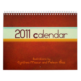 2011 Calendar of Illustrations