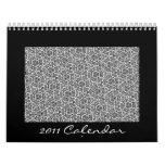 2011 Calendar of Patterns