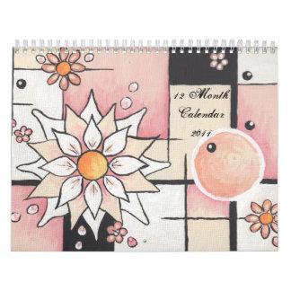 2011 Calendar Purcell Design Florals