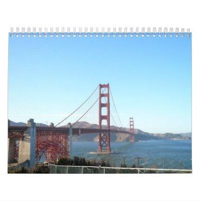 2011 Calendar, San Francisco