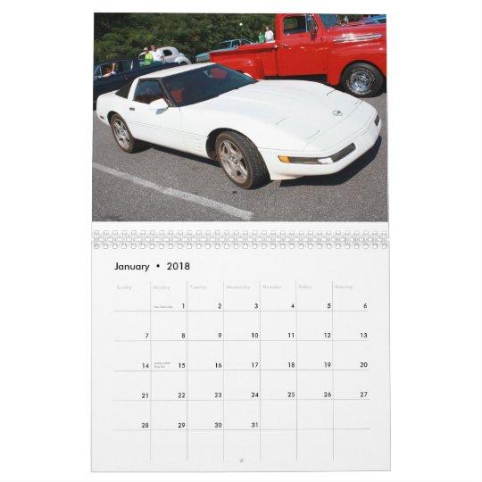 2011 Calendar Super Corvettes