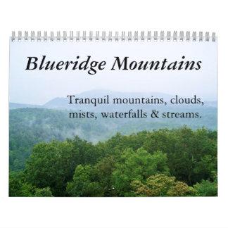 2011 Calendar: Tranquil Blue Ridge Mountains Calendar