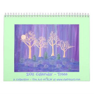 2011 Calendar ~ Trees